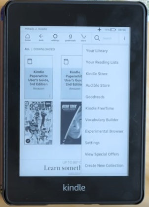 Kindle Paperwhite Canada